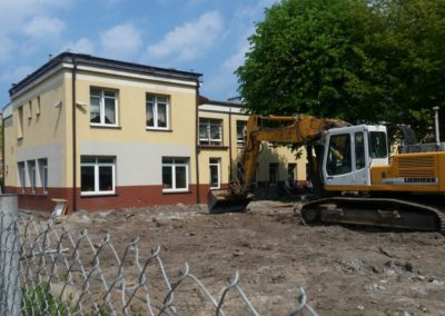 Rozbudowa domu Pomocy Społecznej