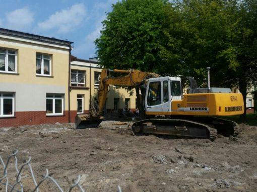 Rozbudowa domu pomocy społecznej Stogi