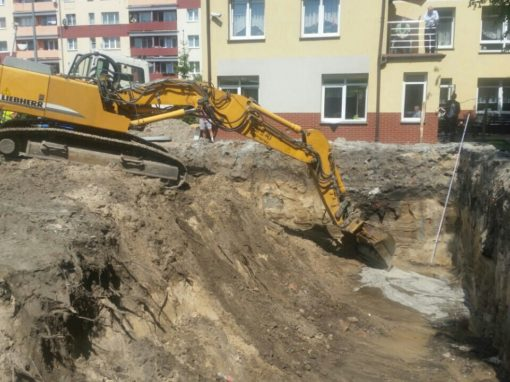 Rozbudowa domu Pomocy Społecznej Gdańsk Stogi